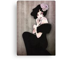 _powder Canvas Print