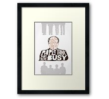 George Costanza - Annoyed All The Time Framed Print