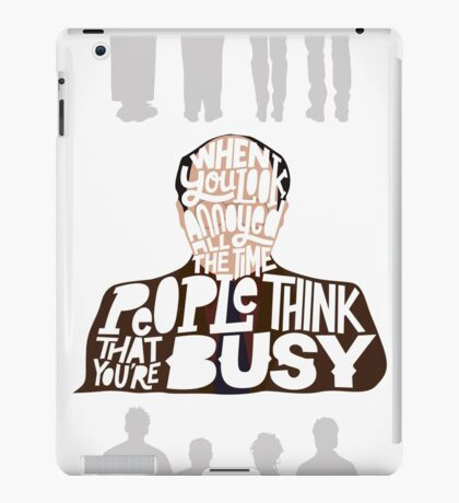 George Costanza - Annoyed All The Time iPad Case/Skin