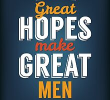 Great Hopes Make Great Men by susse