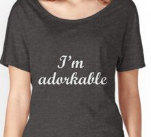 I'm Adorkable Women's Relaxed Fit T-Shirt