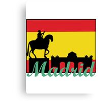 I heart Madrid Canvas Print