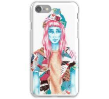 Brick Lane Girl iPhone Case/Skin