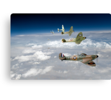 602's Finest Hour Canvas Print
