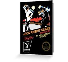 Jack Rabbit Slim's Dance Off Greeting Card