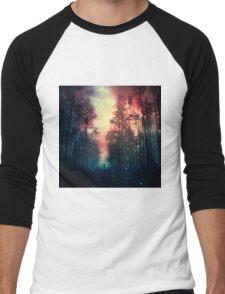 Magical Forest II Men's Baseball ¾ T-Shirt