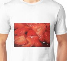 Strawberry Erotic Fruit Unisex T-Shirt