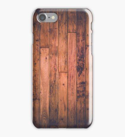 Wooden Floor iPhone Case/Skin