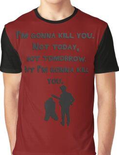 The Walking Dead Rick Season 8 Negan Graphic T-Shirt