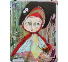 Cora is Little Red Riding Hood iPad Case/Skin