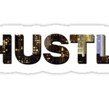#HUSTLE Sticker