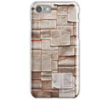 Pages and pages iPhone Case/Skin