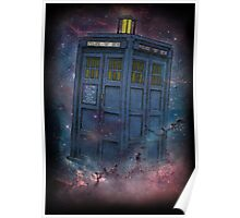 Tardis  and Space Poster