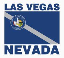 Las Vegas Flag Nevada Kids Tee