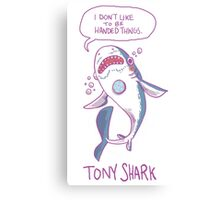 Tony Shark Canvas Print