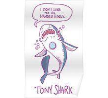 Tony Shark Poster