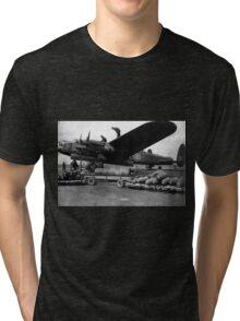 Lanc-Bombing Up! Tri-blend T-Shirt