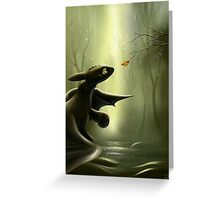 Art Of Dragon trainer Greeting Card