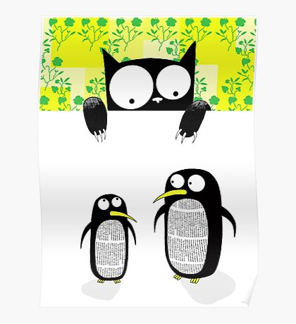 Paper Penguins  Poster