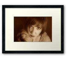 That Look Framed Print