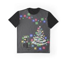 Paper Christmas Tree Graphic T-Shirt