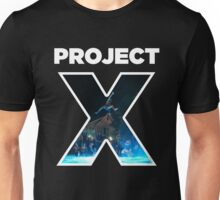 Project X White Unisex T-Shirt