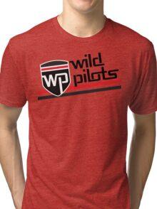 Wild Pilots - Stripe Style Tri-blend T-Shirt