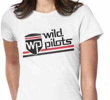Wild Pilots - Stripe Style Womens Fitted T-Shirt