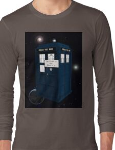 The Doctor is Out Back in 5 Long Sleeve T-Shirt