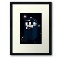 The Doctor is Out Back in 5 Framed Print