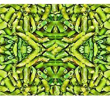 Green Beans Duvet Photographic Print