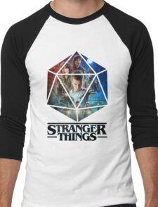 Stranger Things Dice Eleven Men's Baseball ¾ T-Shirt