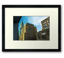 From Your Office Window Framed Print