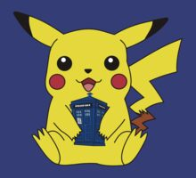 Pikachu Doctor Who Tardis by FiaG
