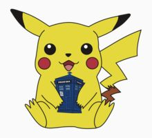 Pikachu Doctor Who Tardis Kids Clothes