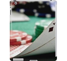 Pocket aces iPad Case/Skin