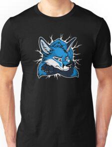 STUCK - Blue Fox / Fuchs (dark backgrounds) Unisex T-Shirt
