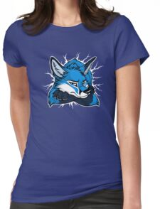 STUCK - Blue Fox / Fuchs (dark backgrounds) Womens Fitted T-Shirt