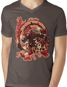 Expand The Land Mens V-Neck T-Shirt