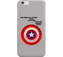 I understood that reference! iPhone Case/Skin