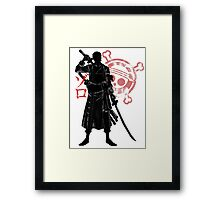 Pirate hunter Framed Print