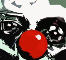 Creepy clown  Sticker