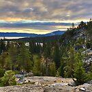 Eagle Falls Trail Sunrise by Robin Black