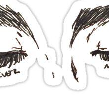 """my pretty sleeper"" Sticker"