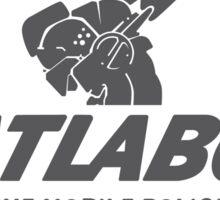 Patlabor (white) Sticker