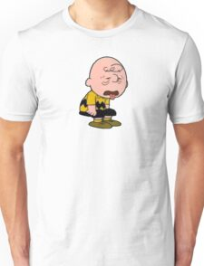Charlie Brown Tired Unisex T-Shirt