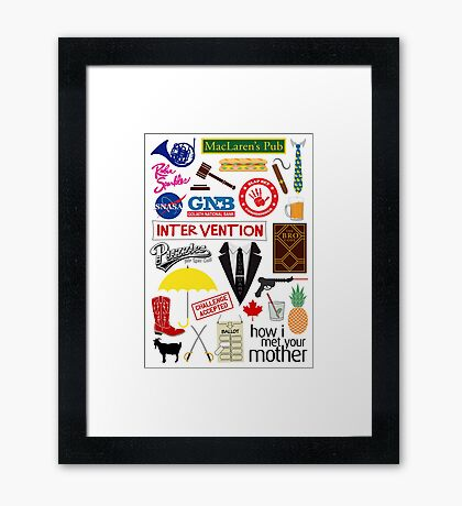 How I Met Your Mother Framed Print