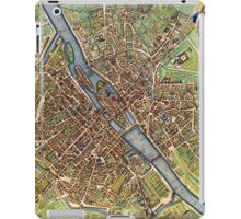 Vintage Historic Paris Map iPad Case/Skin
