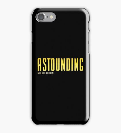 Astounding Science Fiction vintage iPhone Case/Skin