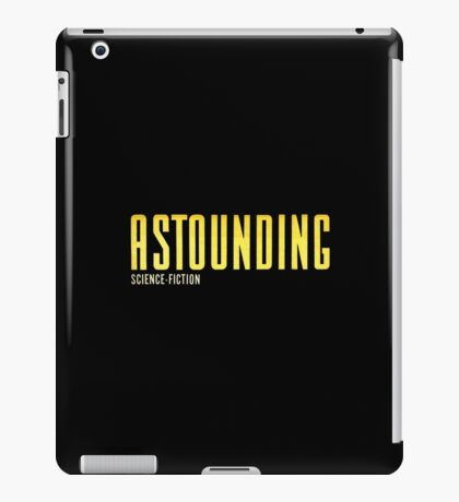 Astounding Science Fiction vintage iPad Case/Skin